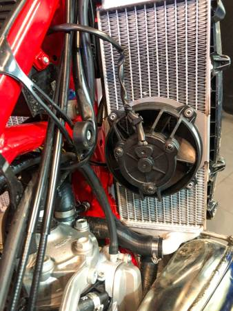 Complete Radiator Fan Kit for 2 STROKE TPI  KTM Husqvarna GAS GAS 17-22