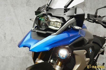 Set 2x Dual.4 Led Lamp with mount for BMW GS 1250 + GJ-CAN